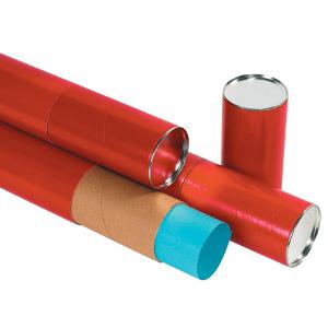"""3 x 24"""" Red Premium Telescoping Tube 24/Case"""