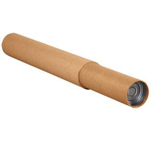 "3 1/4 x 60 - 120"" Kraft Adjustable Tubes 15/Case"