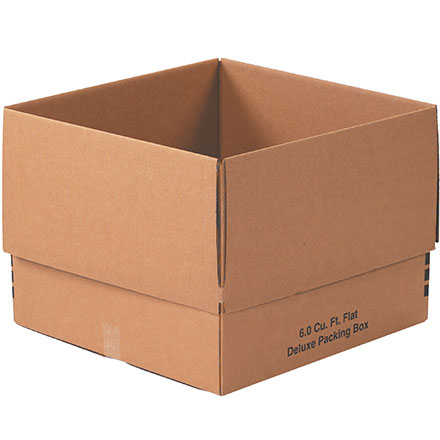6.0 Cu. Ft. Flat Deluxe Packing Box 10/Bundle