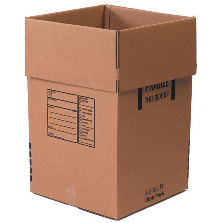 Dish Pack - Deluxe Packing Box 5/Bundle