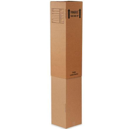 "12 5/16"" x 12 5/16"" x 40"" Outer Lamp Boxes 15/Bundle"