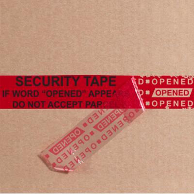 "3"" x 60 Yards Red Tape Logic Secure Tape 24 Rolls/Case"