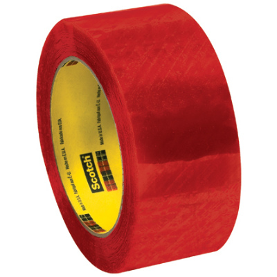 """2"""" x 110 Yards Clear 3M 3199 Security Tape 6 Rolls/Case"""