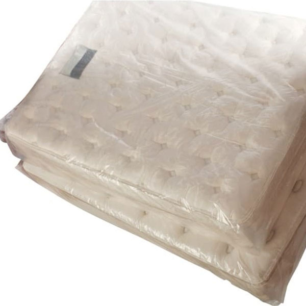"40"" x 15"" x 95"" 3 Mil Twin Pillow Top Mattress Bags 55 Bags/Roll"