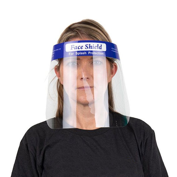Single Use Foam Backed Face Shield (10 Pieces)