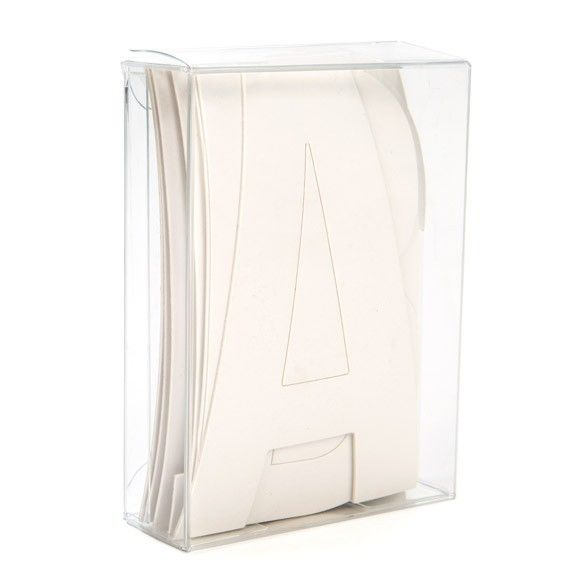 """2 3/4"""" x 1"""" x 3 3/4"""" Soft Fold Clear Boxes (25 Pieces)"""