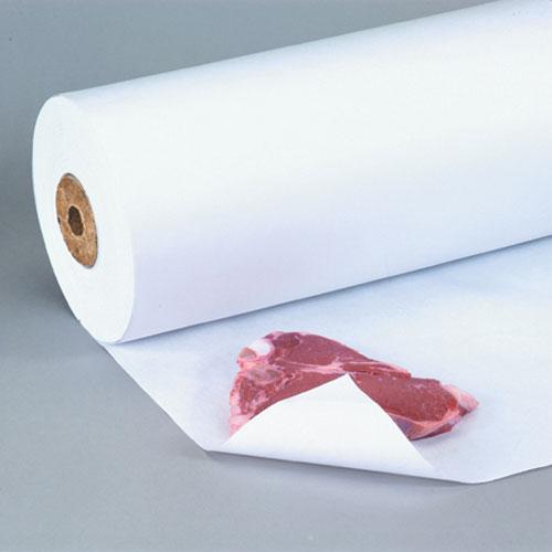 "24"" x 1100' White Freezer Paper Roll"