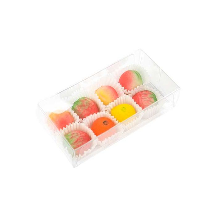 """2 3/4"""" x 1 7/16"""" x 5 1/2"""" Chocolate Box with Insert (100 Pieces)"""