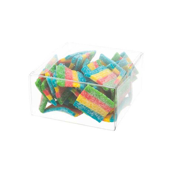 "2 3/4"" x 1 7/16"" x 2 3/4"" Chocolate Box (25 Pieces)"