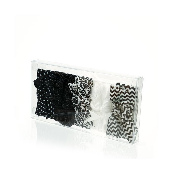 """2 3/4"""" x 9/16"""" x 5 7/16"""" Crystal Clear Boxes (25 Pieces)"""