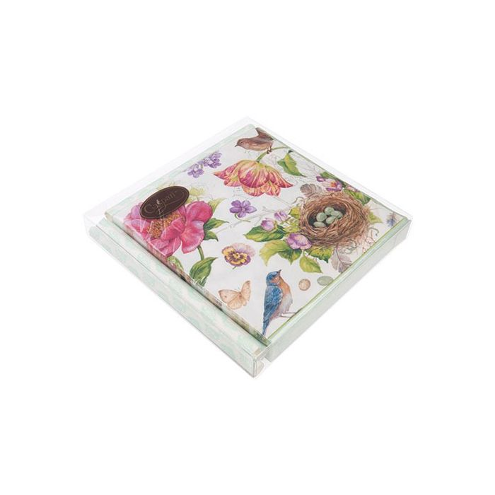"""7 1/8"""" x 1"""" x 7 1/16"""" Soft Fold Clear Boxes (25 Pieces)"""