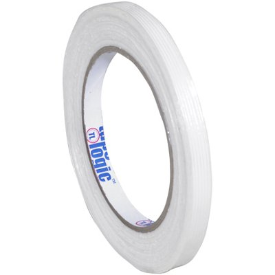 """3/8"""" x 60 Yards Tape Logic 1300 Strapping Tape 12 Rolls/Case"""