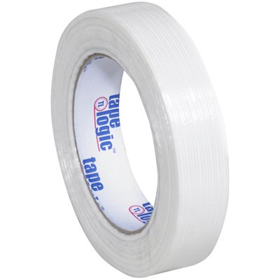 """1"""" x 60 Yards Tape Logic 1300 Strapping Tape 12 Rolls/Case"""