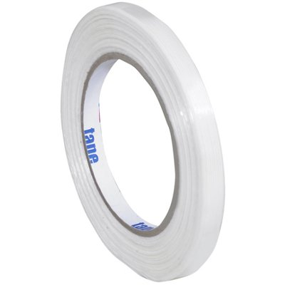 """3/8"""" x 60 Yards Tape Logic 1400 Strapping Tape 12 Rolls/Case"""