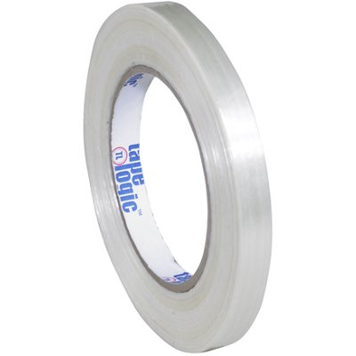 """1/2"""" x 60 Yards Tape Logic 1500 Strapping Tape 72 Rolls/Case"""
