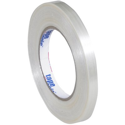 """1/2"""" x 60 Yards Tape Logic 1550 Strapping Tape 72 Rolls/Case"""