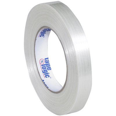 """3/4"""" x 60 Yards Tape Logic 1550 Strapping Tape 12 Rolls/Case"""
