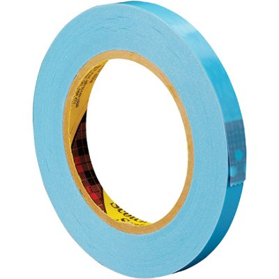 """1/2"""" x 60 Yards 3M 8896 Strapping Tape 12 Rolls/Case"""