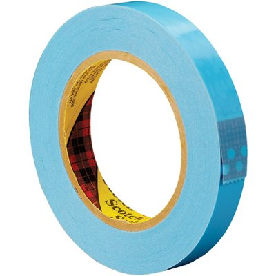 """3/4"""" x 60 Yards 3M 8896 Strapping Tape 12 Rolls/Case"""
