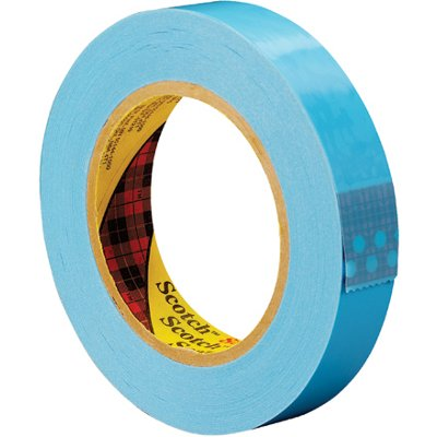 """1"""" x 60 Yards 3M 8896 Strapping Tape 12 Rolls/Case"""