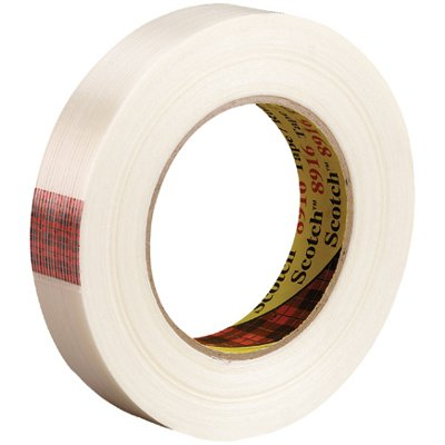 """3/4"""" x 60 Yards 3M 8916 Strapping Tape 48 Rolls/Case"""