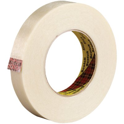 """3/4"""" x 60 Yards 3M 8919 Strapping Tape 12 Rolls/Case"""