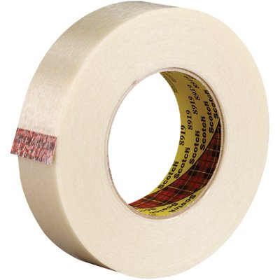 """1"""" x 60 Yards 3M 8919 Strapping Tape 12 Rolls/Case"""