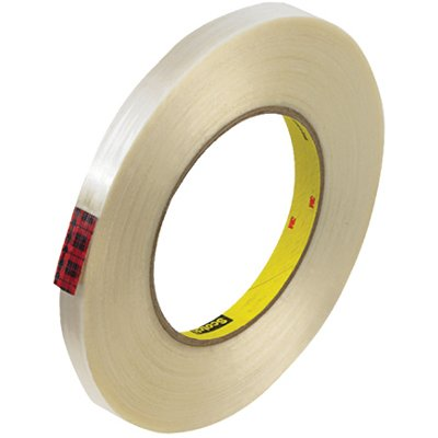 """1/2"""" x 60 Yards 3M 890MSR Strapping Tape 72 Rolls/Case"""