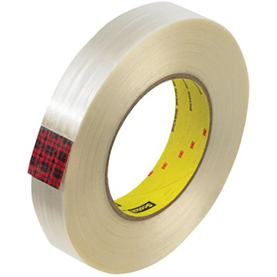 """1"""" x 60 Yards 3M 890MSR Strapping Tape 12 Rolls/Case"""