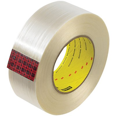 """2"""" x 60 Yards 3M 890MSR Strapping Tape 12 Rolls/Case"""