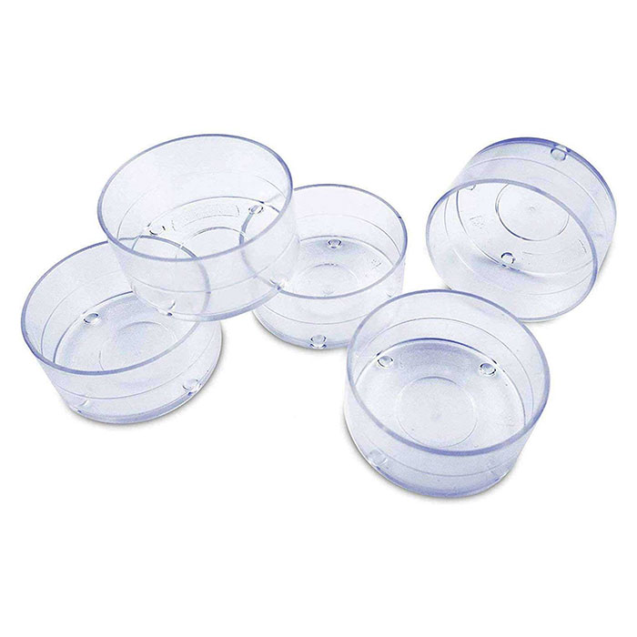 Clear Plastic Tealight Cups 1000/case
