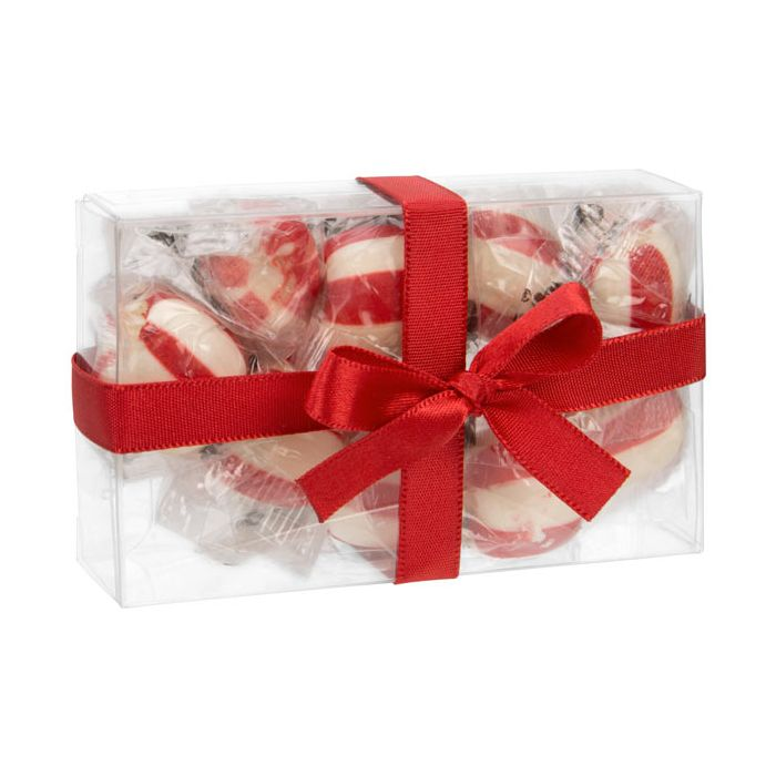 """2 1/4"""" x 1"""" x 3 11/16"""" Soft Fold Clear Boxes (25 Pieces)"""