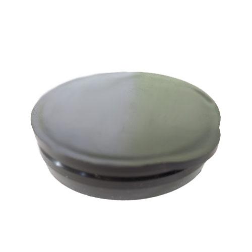 """1 3/4"""" Black Packaging Tube Caps"""
