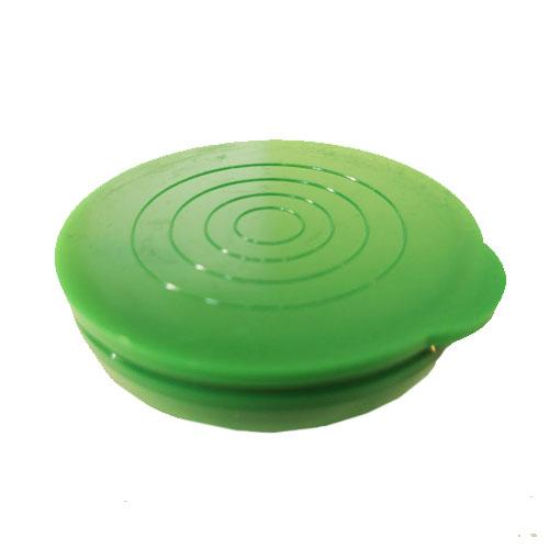 "1 3/4"" Green Packaging Tube Caps"