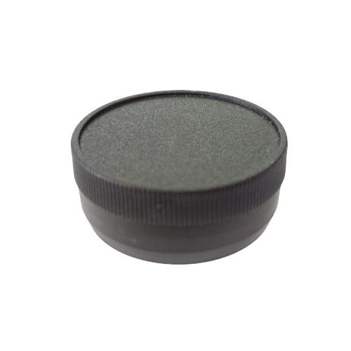 """1 1/2"""" Black Packaging Tube Caps"""