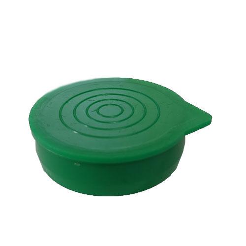 "1 1/2"" Green Packaging Tube Caps"