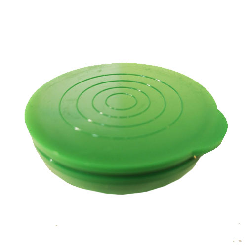 "2"" Green Packaging Tube Caps"