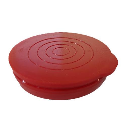 "2"" Red Packaging Tube Caps"