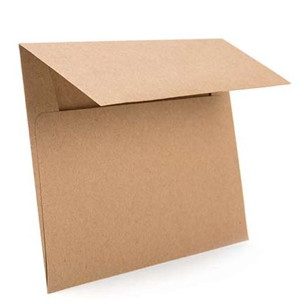 Brown Bag Envelopes, A1 5 1/8 x 3 5/8 (50 pack)