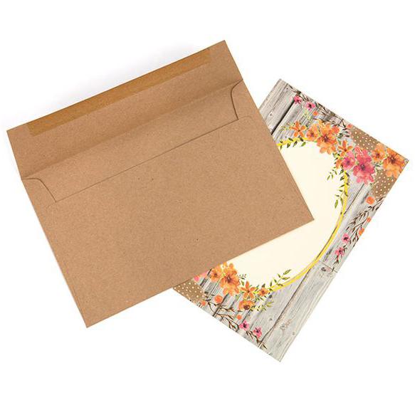 Brown Bag Envelopes, A9 8 3/4 x 5 3/4 (50 pack)