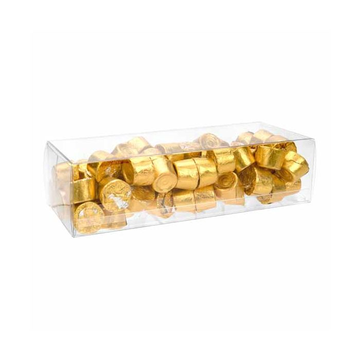 """2 9/16"""" x 2"""" x 7 1/2"""" Crystal Clear Boxes (25 Pieces)"""