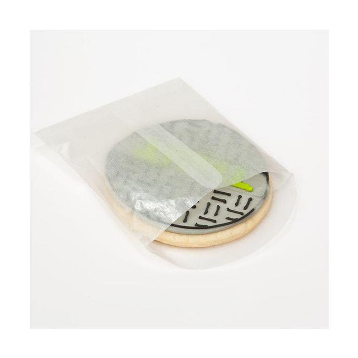 "3 1/2"" x 3 1/2"" Glassine Open End Center Seam Envelope (100 Pieces)"