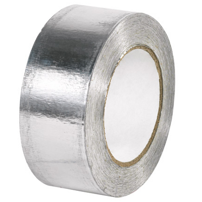 "2"" x 60 Yards Industrial Aluminum Foil Tape 24 Rolls/Case"