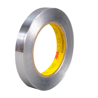 "1/2"" x 60 Yards 3M - 425 Aluminum Foil Tape 1 Rolls/Case"