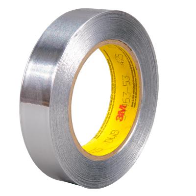 "1"" x 60 Yards 3M - 425 Aluminum Foil Tape 36 Rolls/Case"