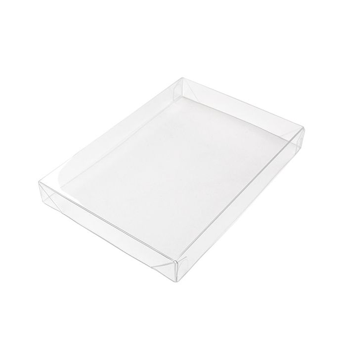 3 13/16 x 5/8 x 5 7/16 Crystal Clear Collapsible Box Top (25 pack)