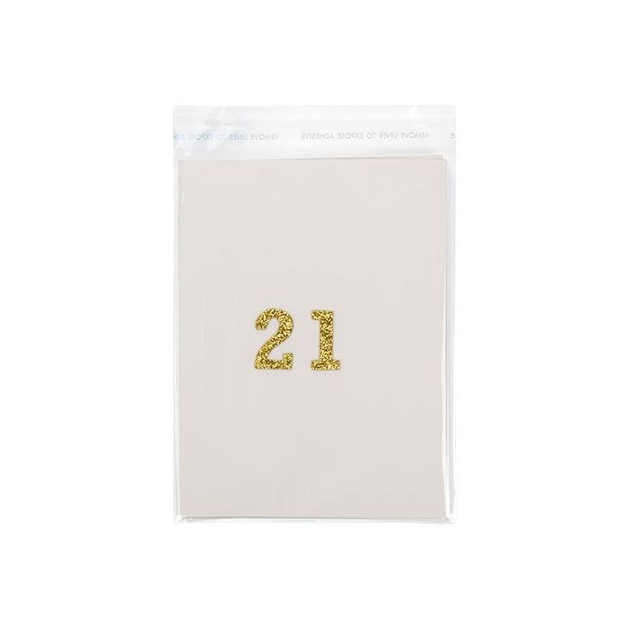 "4 7/8"" x 6"" A2/5.5 Bar Crystal Clear Bags 100/Pack"