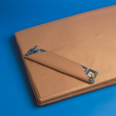 """8 1/2"""" x 11"""" - 30# Kraft Paper Sheets 50 lbs/Bundle"""