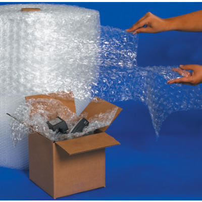 """3/16"""" x 12"""" x 300' UPSable Perforated Air Bubble 4 Rolls/Bundle"""