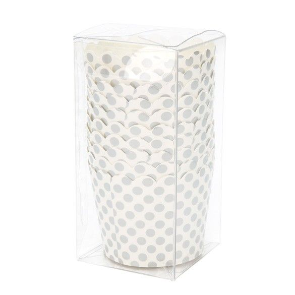 """2 1/16"""" x 2 1/16"""" x 4 1/8"""" Crystal Clear Pop & Lock Boxes (25 Pieces)"""